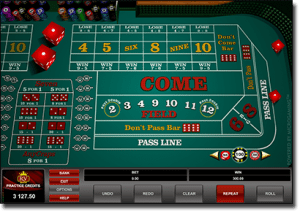 Play Real Money Online Craps at Royal Vegas Casino