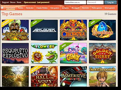 Leo Vegas Real Money Casino Games